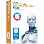 Антивирус Eset NOD32 Smart Security Family