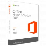 Офисный пакет Microsoft Office Home and Student 2016