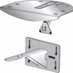 Опция для Видеоконференций Polycom Mounting bracket shelf solution